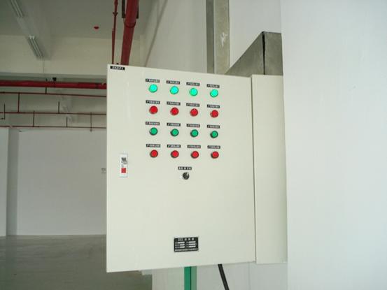 水泵控制箱安装